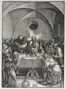 Das letzte Abendmahl, Albrecht Dürer von De Canon