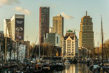 Oude haven Rotterdam van Alexander Blok