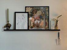 Photo de nos clients: La muse des peintres - Deuxième partie sur Marja van den Hurk, sur poster
