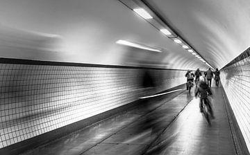 Voetgangerstunnel Antwerpen von Erik Bertels