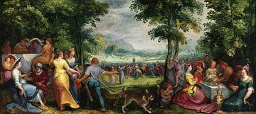 Der Tanz um das Goldene Kalb, Karel van Mander