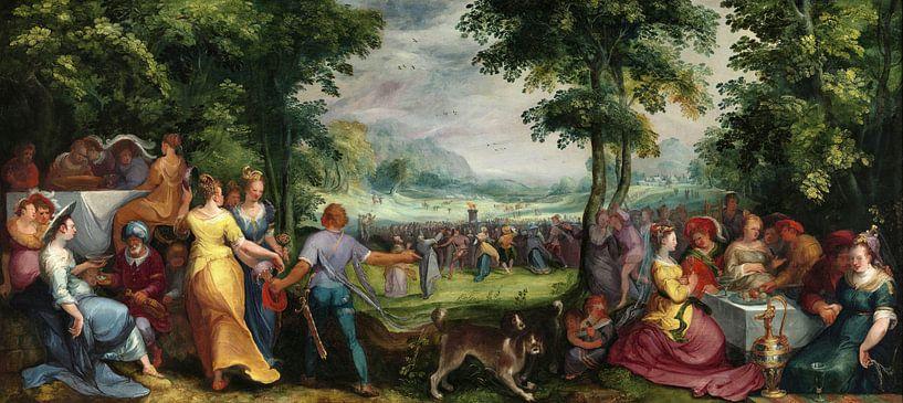 Der Tanz um das Goldene Kalb, Karel van Mander von Meesterlijcke Meesters