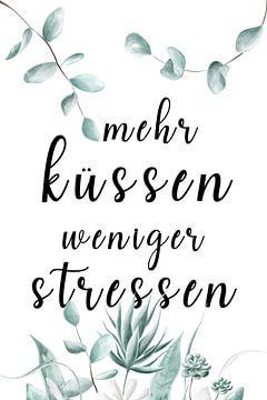 meer kussen en minder stress van Felix Brönnimann