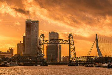 Rotterdam- stad van goud van AdV Photography