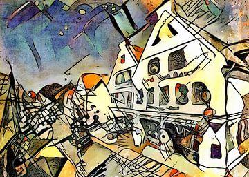 Kandinsky trifft Warnemünde 5 von zam art