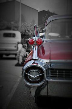Cadillac Fleetwood (detail) van Titus Dingjan
