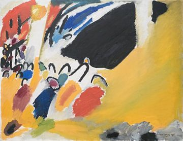 Impressions III (concert), Wassily Kandinsky sur