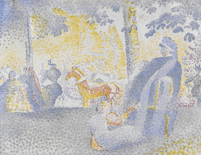 Auf den Champs-Élysées, Henri-Edmond Kreuz von Meesterlijcke Meesters