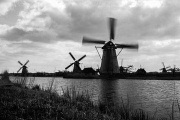 Windmühlen in Kinderdijk, Bewegung von Nynke Altenburg