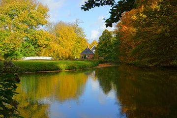 Landgoed Elswout in de herfst sur