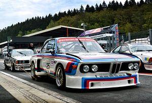 BMW CSL 'Batmobile' racer sur Bas Bleijenberg