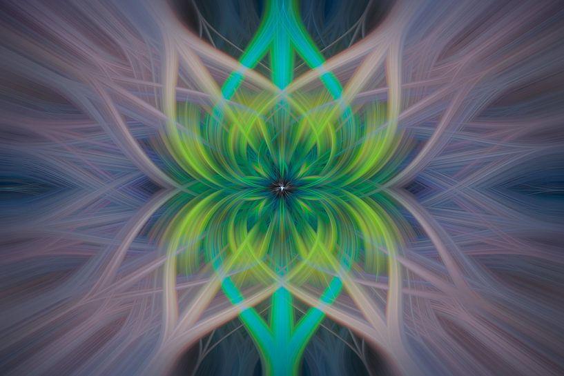 Digital abstract nr 14 van Leo Luijten