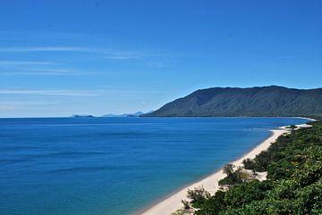 Rex Lookout en Trinity Bay , QLDAustralië van Maurits Simons