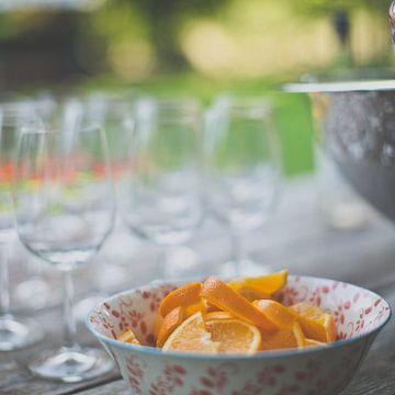 Schaaltje sinaasappel van Erik Rudolfs