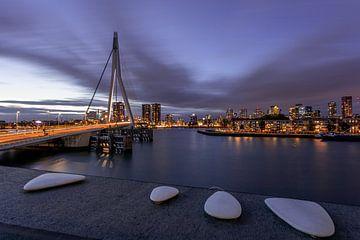 Erasmus Brücke - Extreme Luft von Fotografie Ploeg