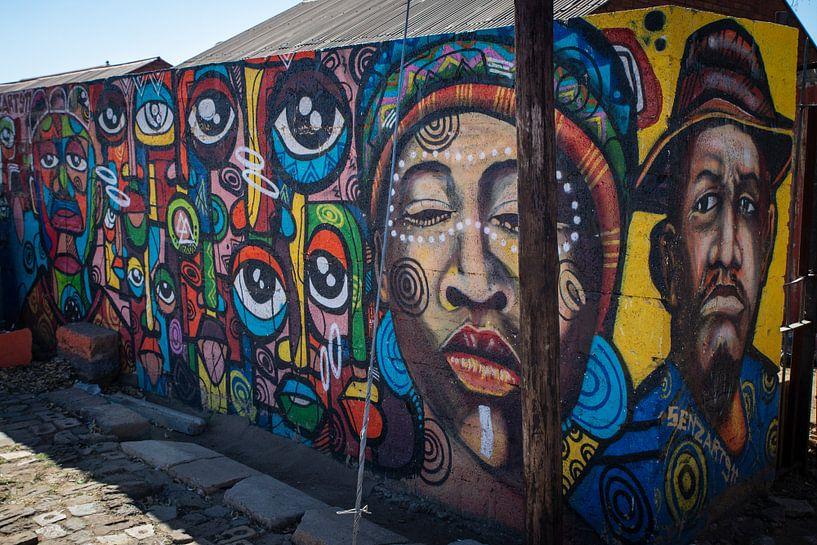 Street art van Roelinda Tip