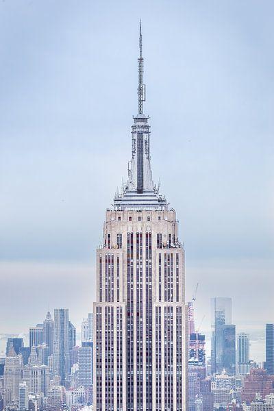 Empire State Building New York City van Inge van den Brande