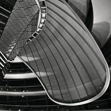 Kuppel - Deutscher Reichstag - Berlin-Tiergarten van Silva Wischeropp