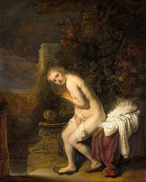 Suzanna - Rembrandt van Rijn von Rembrandt van Rijn