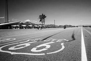 Route 66, California van