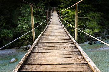 Hängebrücke von