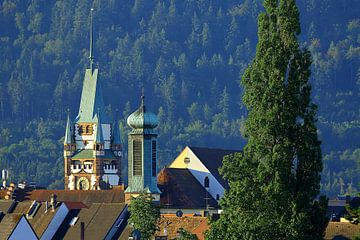 Freiburg über den Dächern von Patrick Lohmüller