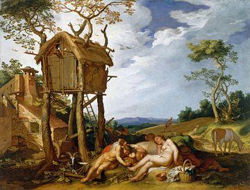Gleichnis vom Weizen und vom Unkraut - Abraham Bloemaert, 1624 von Atelier Liesjes