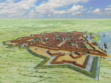 Festung Venlo 1649 von Frans Blok