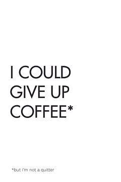 Kaffee aufgeben von Walljar