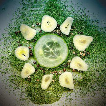 Cucumber salad van Leopold Brix