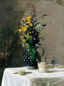 Blumenstrauss aus Wildblumen, Hans Thoma
