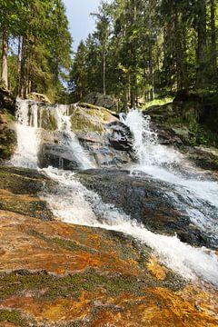 Riesloch Watervallen bij Bodenmais, Beieren 5 van Jörg Hausmann