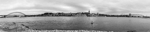 Panorama van Nijmegen