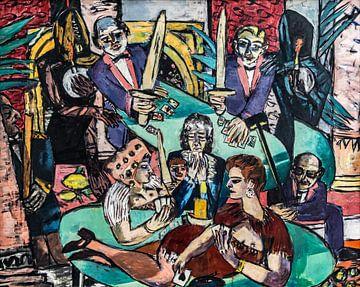 Traum von Monte Carlo, Max Beckmann, 1939-1943