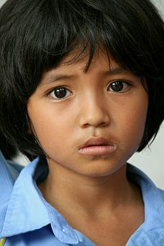 Kleiner Junge in Thailand von Gert-Jan Siesling