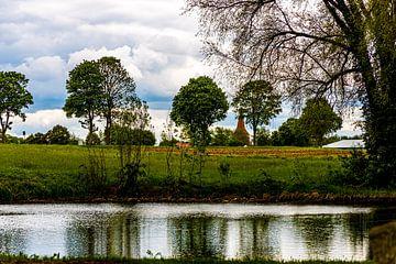 Vijver van het dorp van W.Schriebl PixelArts