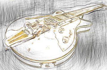 gitaar van Karl-Heinz Lüpke