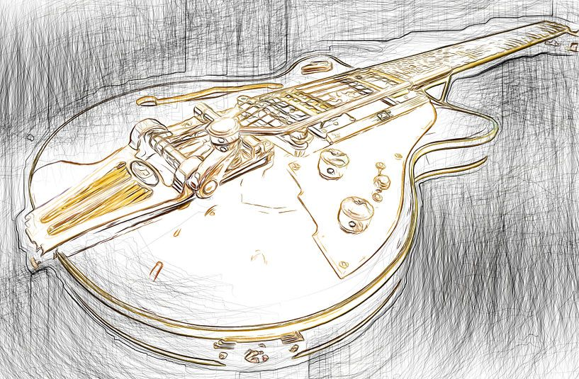 Gitarre2 von Karl-Heinz Lüpke