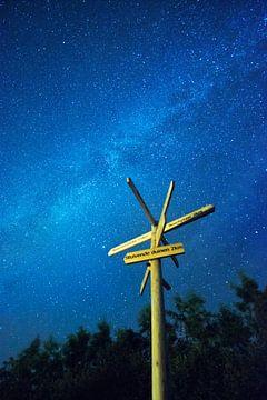 Galaxie dans la forêt de Hoorn.
