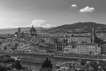 Florence, Italië - Uitzicht over de stad - 4 van Tux Photography