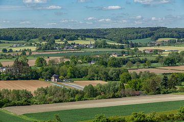 Uitzicht op Holset in Zuid-Limburg