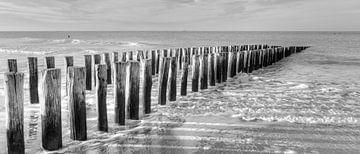 Das Meer, Nordsee, Domburg von Bas Wolfs
