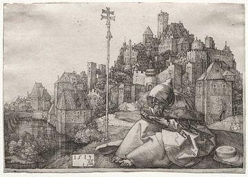 Lesung St. Antonius, Albrecht Dürer von De Canon