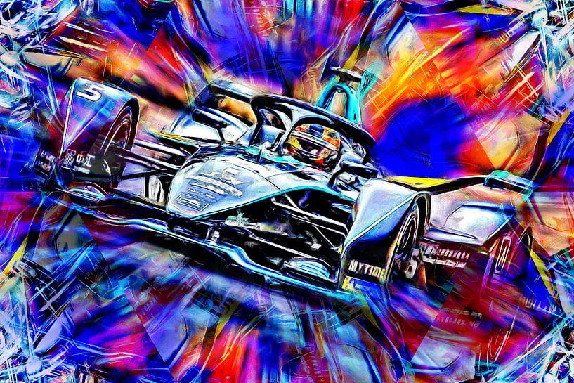 Stoffel Vandoorne - Formula E von Jean-Louis Glineur alias DeVerviers