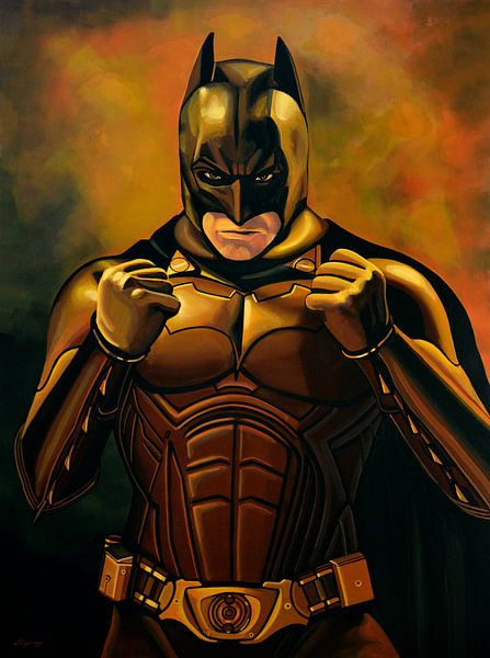 Batman The Dark Knight painting von Paul Meijering
