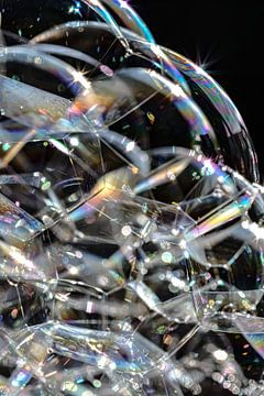 Souffler des bulles sur Esther van Dijk