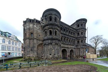 Porta nigra Trier van