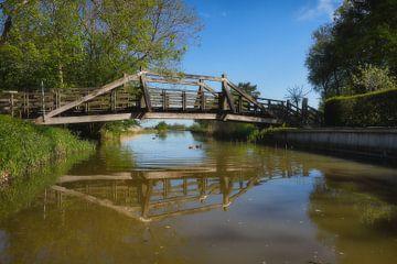 Holzbrücke von Dieter Ludorf