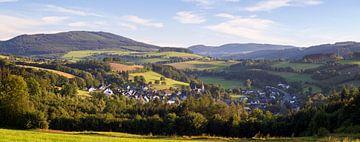 Panorama vom Rosendorf Assinghausen