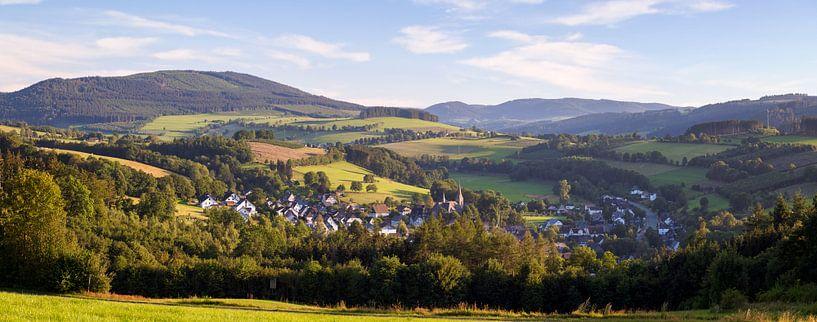 Panorama vom Rosendorf Assinghausen von Deimel Fotografie